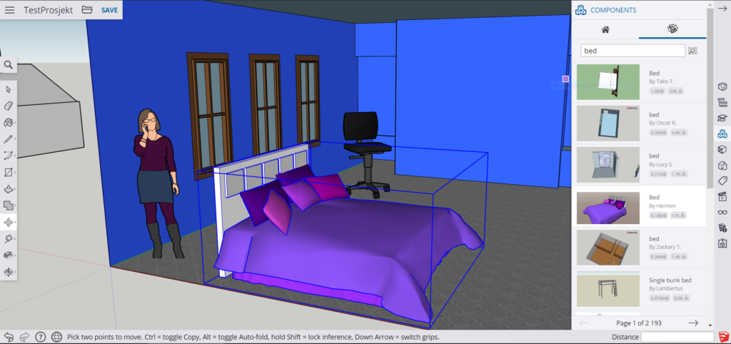 SketchUp for Web Varehus
