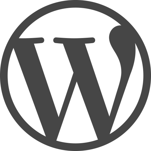 WordPress logotype simplified